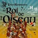 Fêtes renaissance du Roi de ľOiseau, Le Puy-en-Velay, France
