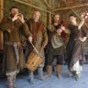 Natáčení historického filmu Poutnice (Die Pilgerin)