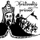 Průvod Karla IV. s korunovačními klenoty, Dobřichovice, Karlštejn (CZ)