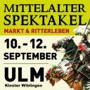 Großer Mittelaltermarkt, Ulm-Wiblingen (Germany)
